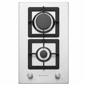 Cooktop Elettromec Dominó Quadratto 2 Queimadores Inox 30cm Bivolt