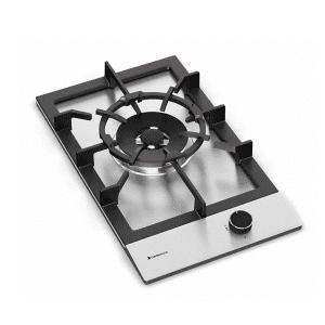 Cooktop Aço Inox a gás 1 queimador DeBacco Zurique 30 cm